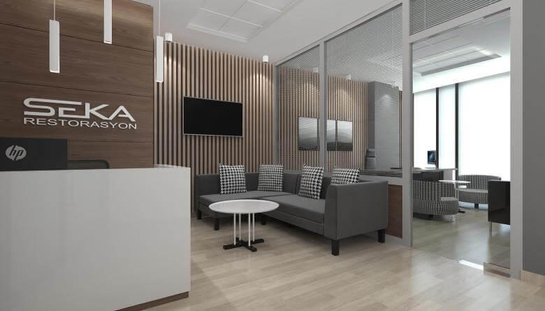 ofis mimari 3765 Seka Restorasyon Ofisler