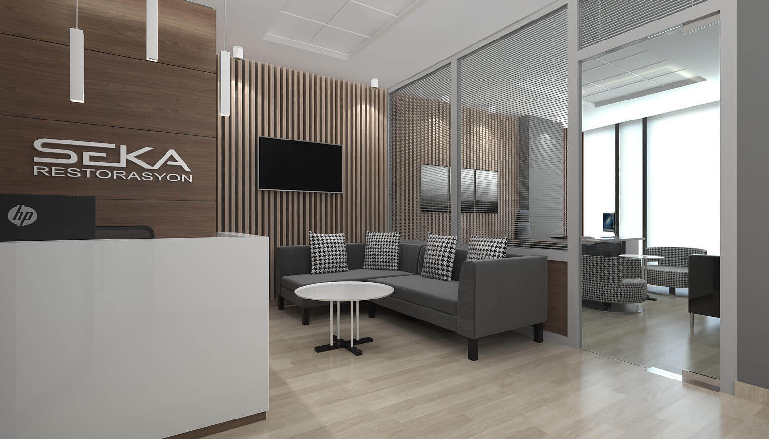 ofis içmimari 3765 Seka Restorasyon Ofisler