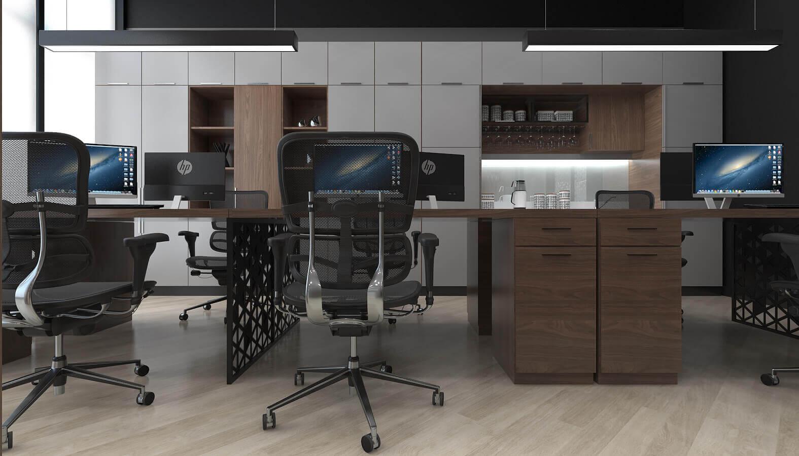 ofis dekorasyonu 3775 Tanıtek Ofisler