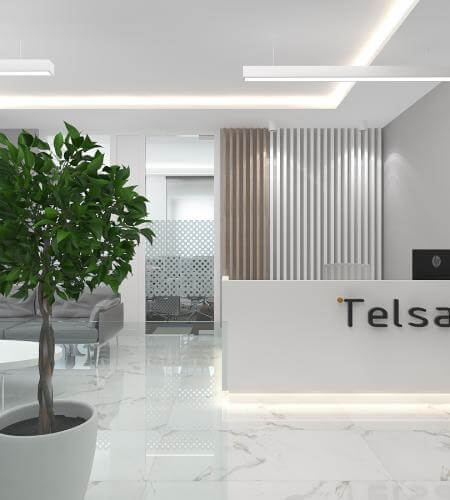 ofis içmimari 3780 Telsam Telekom