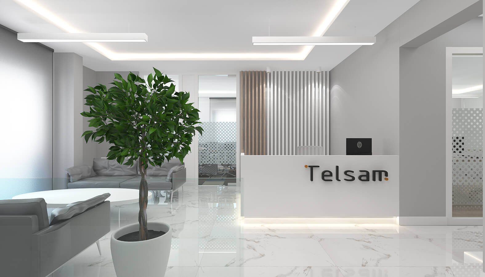 ofis içmimari 3780 Telsam Telekom Ofisler