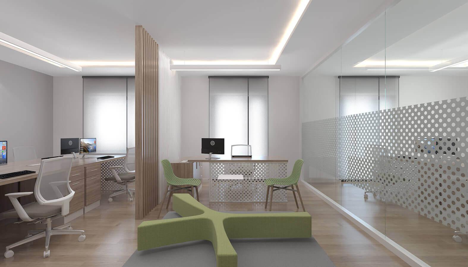 ofis içmimari 3783 Telsam Telekom Ofisler