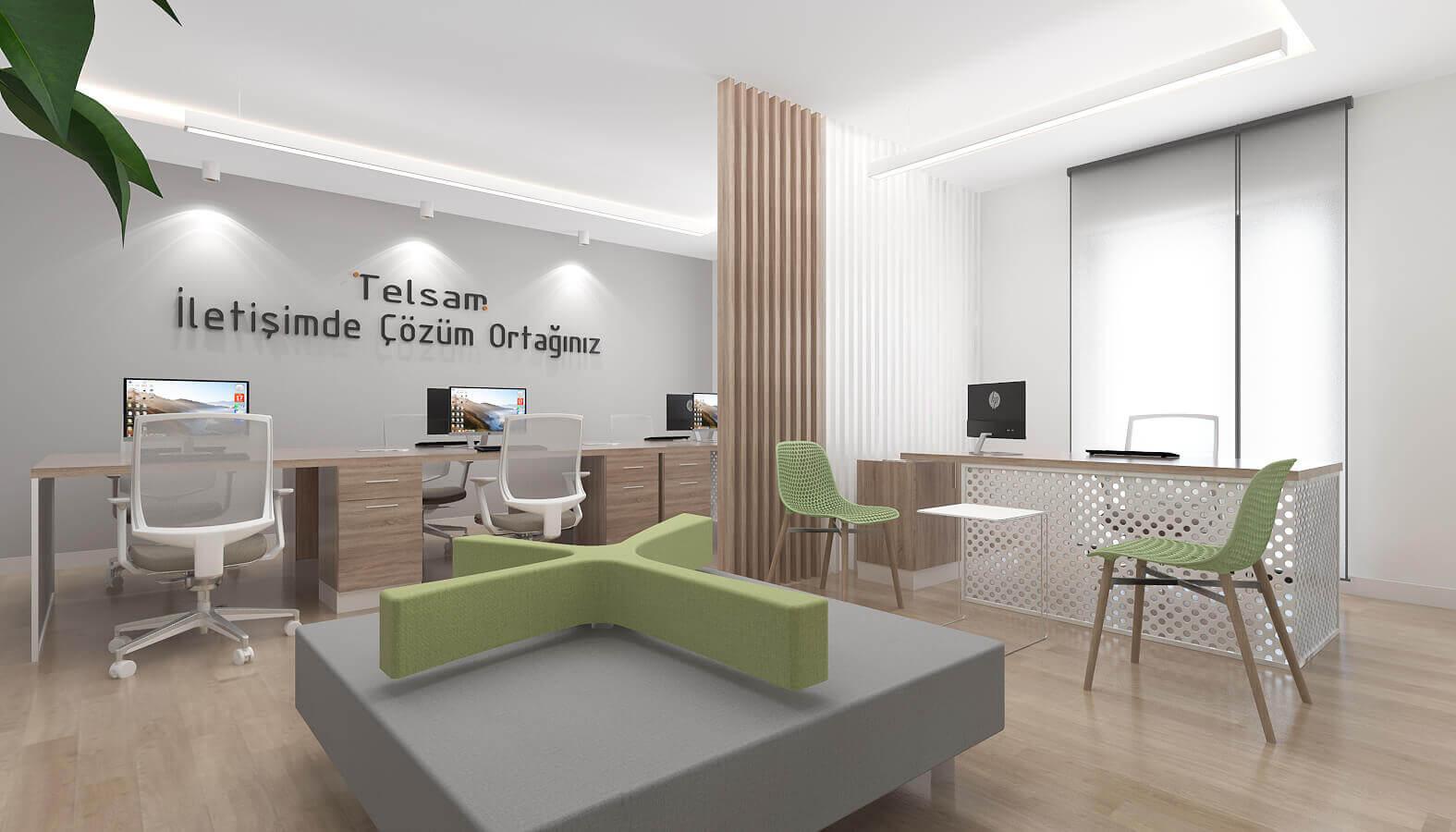 içmimar 3784 Telsam Telekom Ofisler