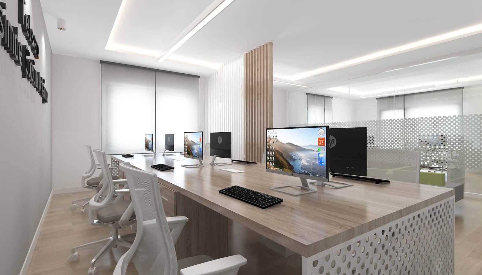 ofis içmimari 3786 Telsam Telekom Ofisler
