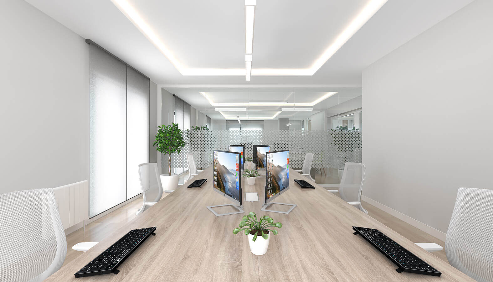 ofis içmimari 3795 Telsam Telekom Ofisler