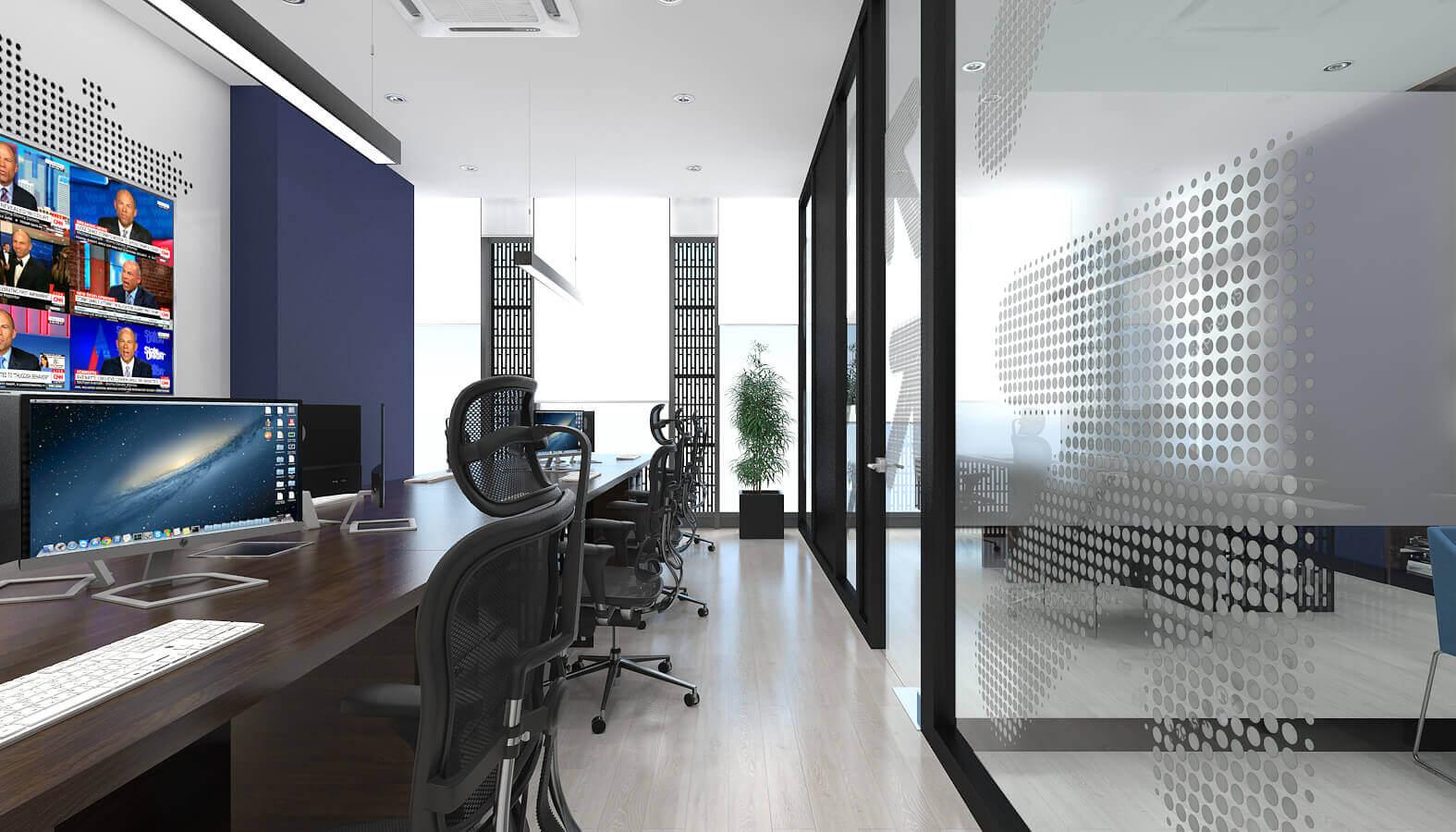 ofis dekorasyonu 3805 TV ON Ofisler