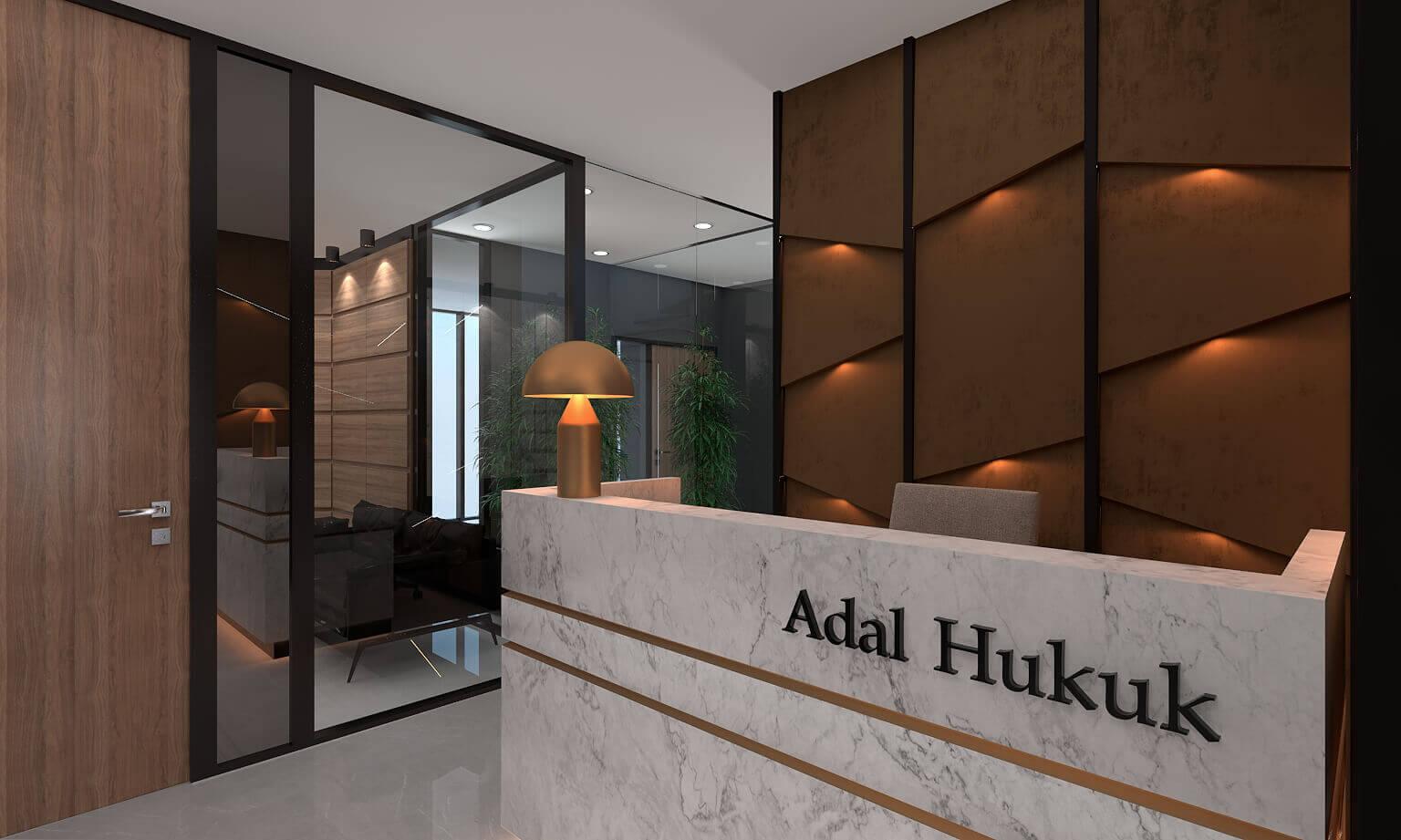 Hukuk bürosu tasarımı Ofisler