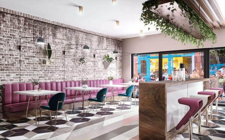 restorant iç mimar 3815 Dök Bi'lokma Restoranlar