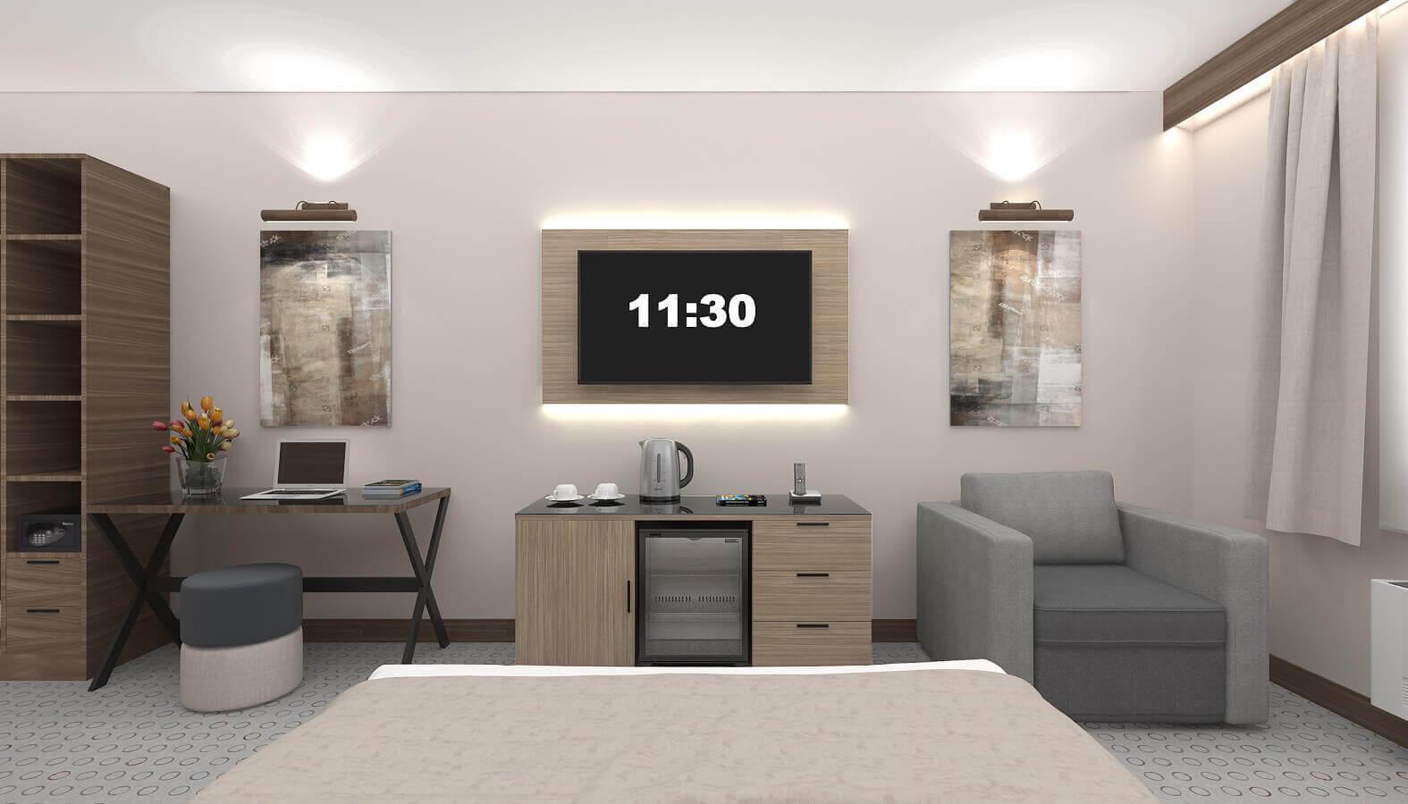 otel odası tasarımı 3834 Leo Oteller