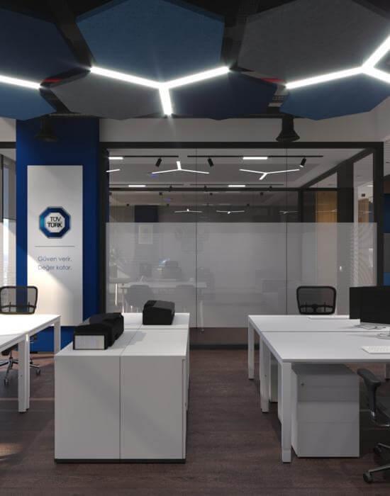 ofis dekorasyonu 3835 Tüvtürk Ankara Ofis