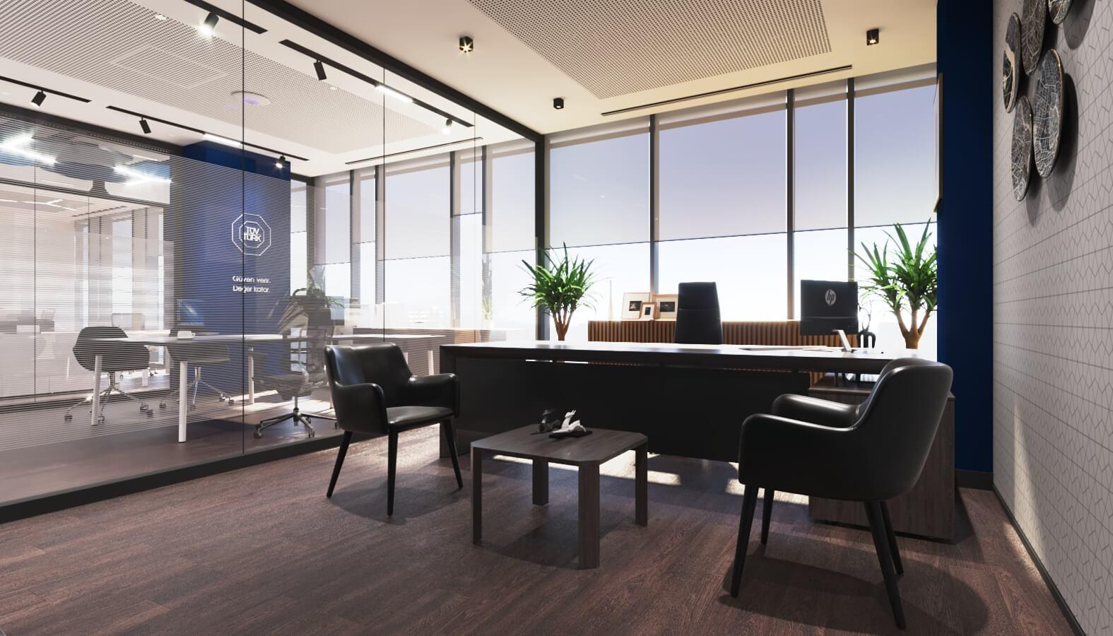 Tüvtürk Ankara Ofis, Ofisler