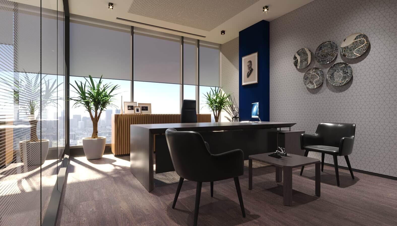 ofis mimari 3842 Tüvtürk Ankara Ofis Ofisler