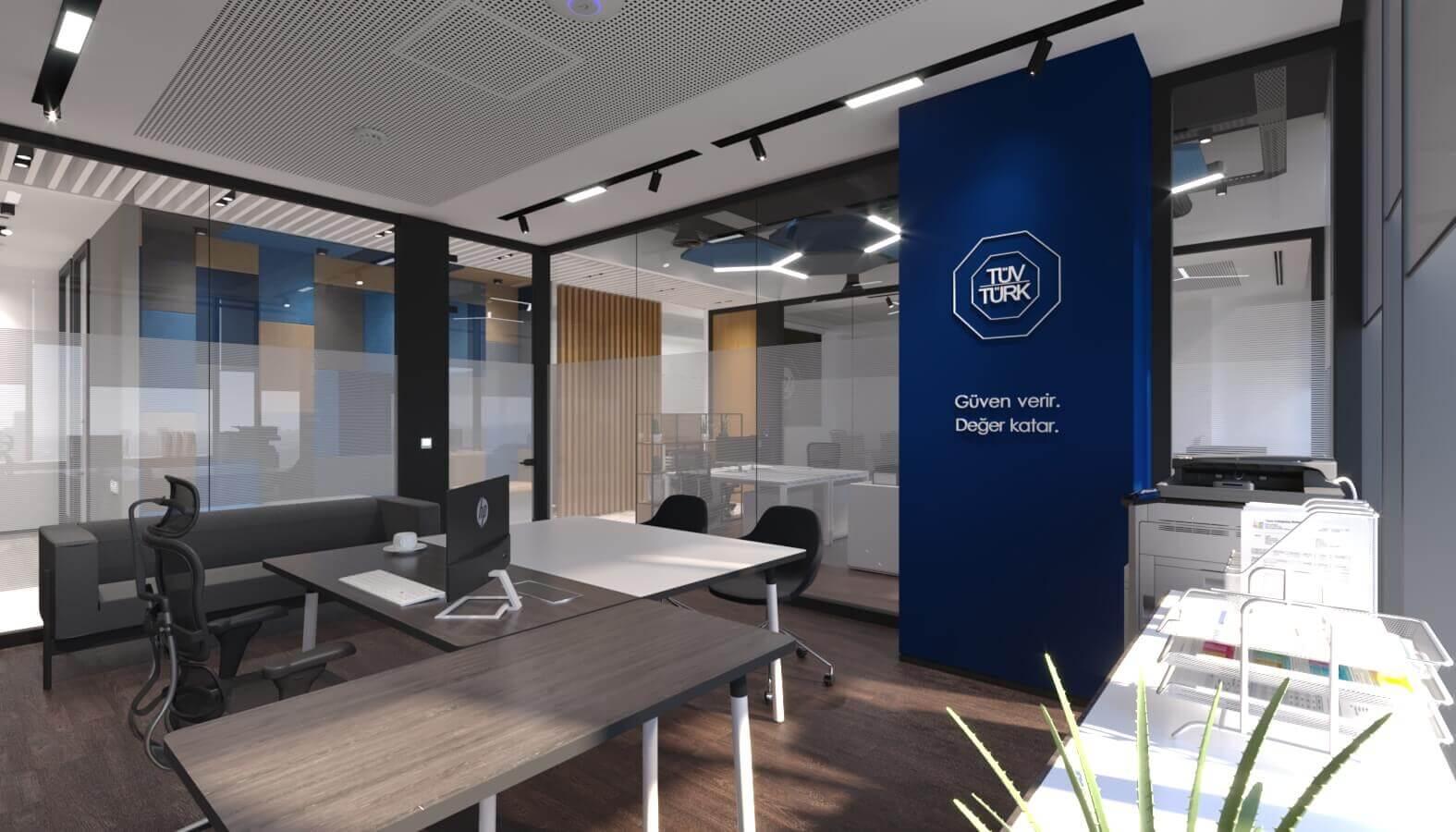 ofis mimari 3844 Tüvtürk Ankara Ofis Ofisler