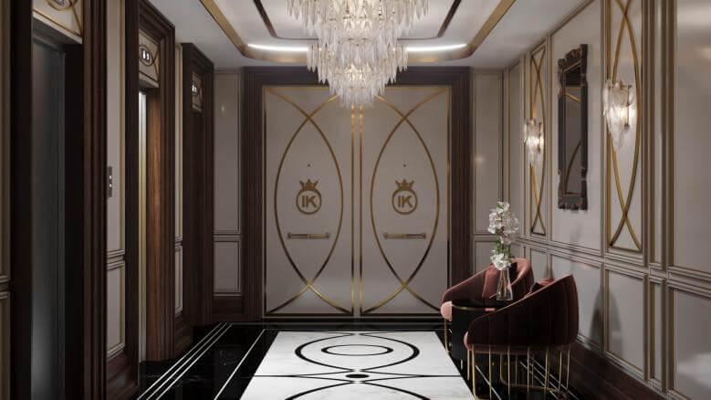 villa dekorasyonu 3848 IK Konutu Konutlar