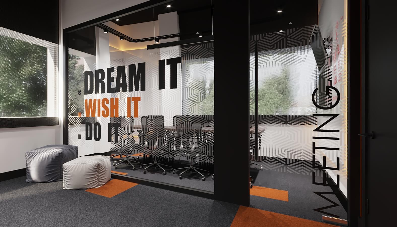 Ofis İç Mimari Dekorasyonu  Mobiversite