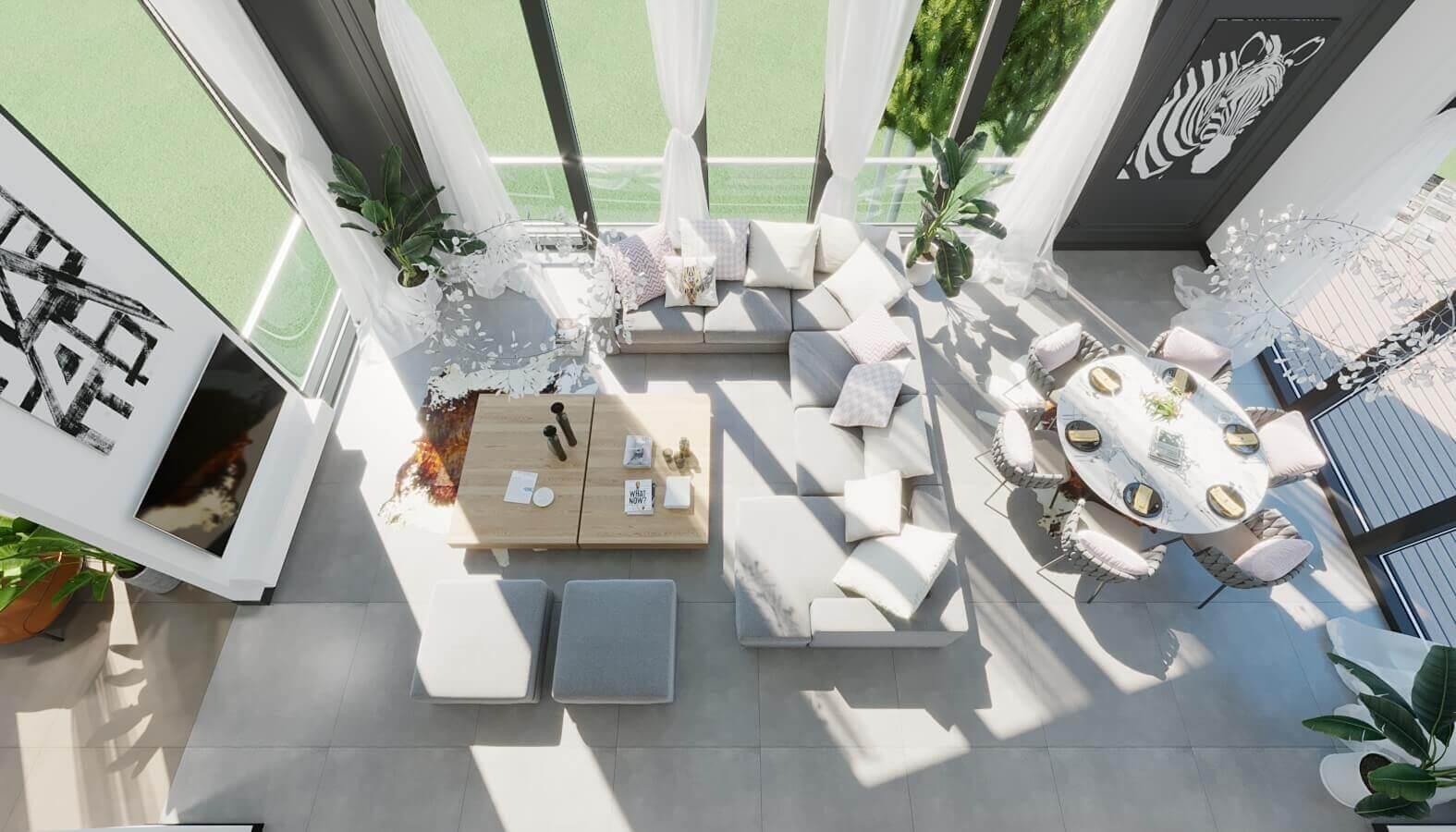 Villa iç mimar dizayn 3901 NC Konutu Konutlar