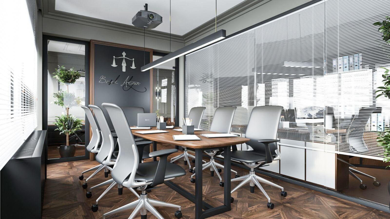 ofis içmimari 4038 Başak AKGÜN Hukuk Ofisler