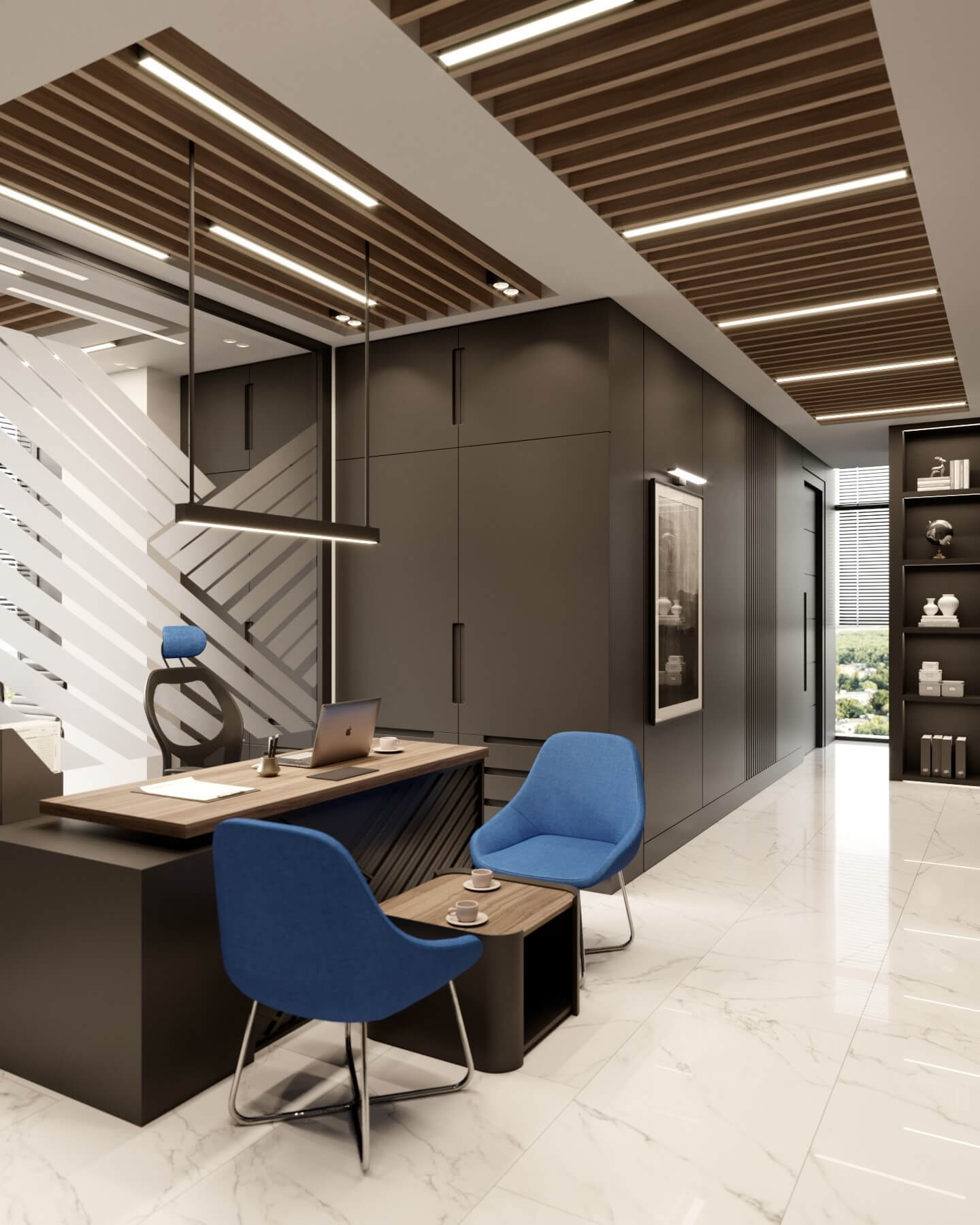 ofis içmimari 4113 Altın Hayat Sigorta Ofisler