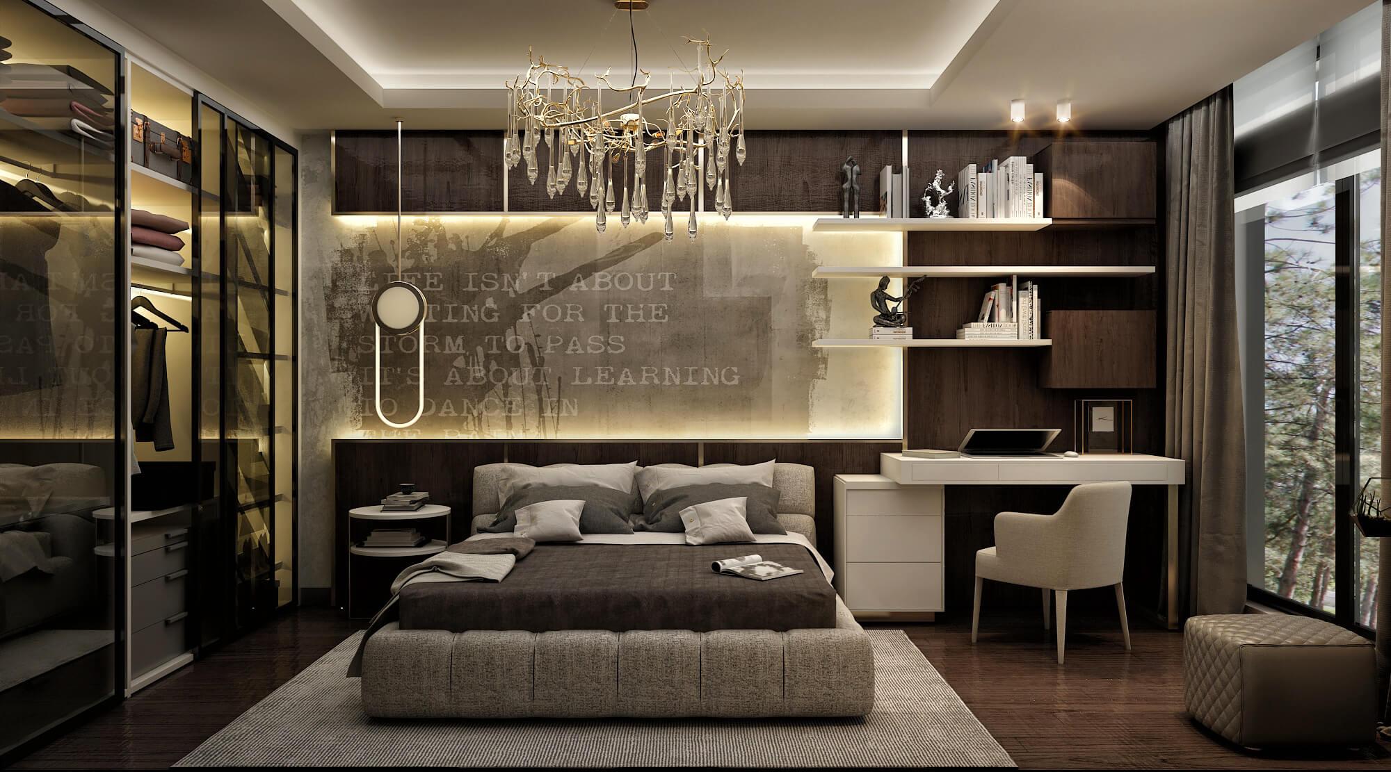 villa mimari 4204 Elit Koru Park Villaları Konutlar