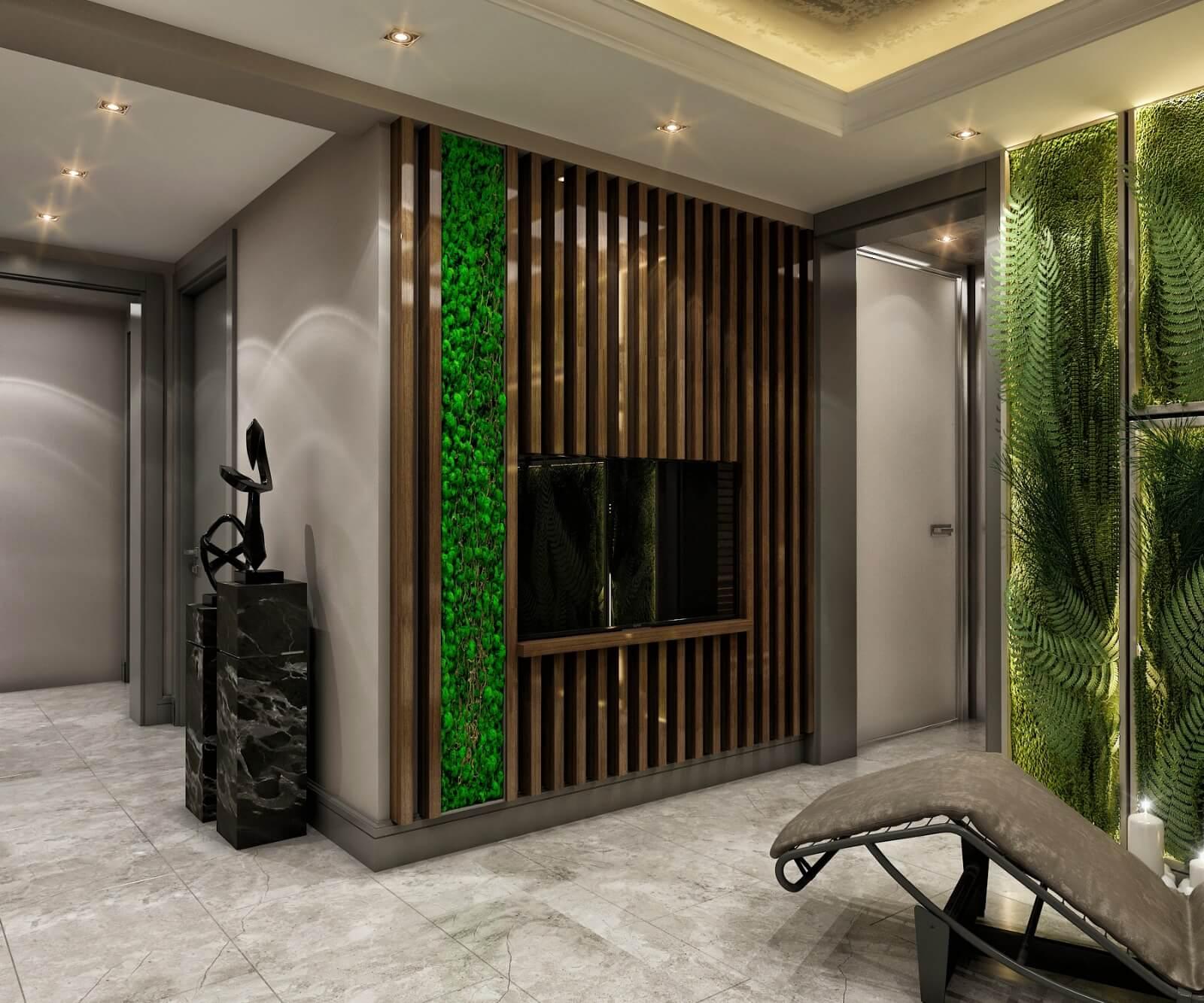 villa dekorasyonu 4236 Elit Koru Park Villaları Konutlar