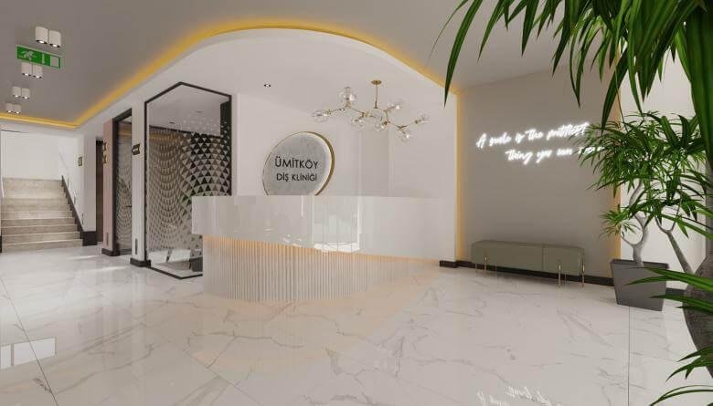 Ümitköy 4544 Ankara Diş Kliniği Tasarımı Sağlık