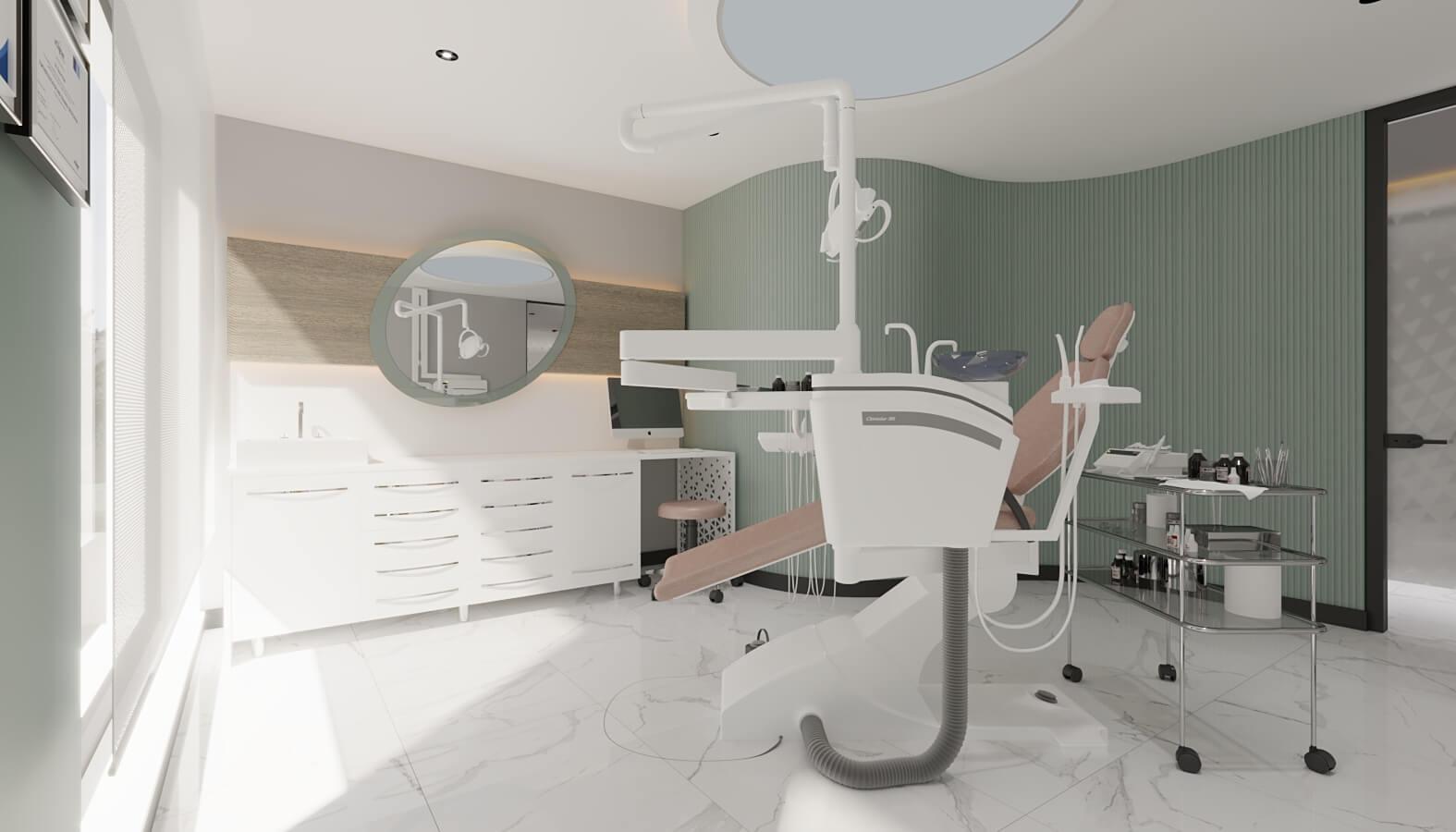 Diş kliniği tasarımı 4551 Ankara Diş Kliniği Tasarımı Sağlık