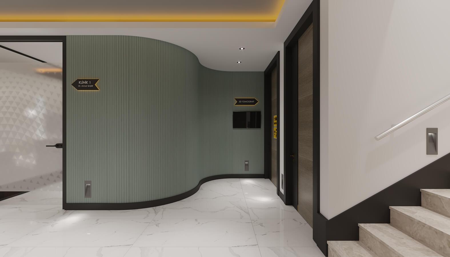 Ümitköy 4553 Ankara Diş Kliniği Tasarımı Sağlık