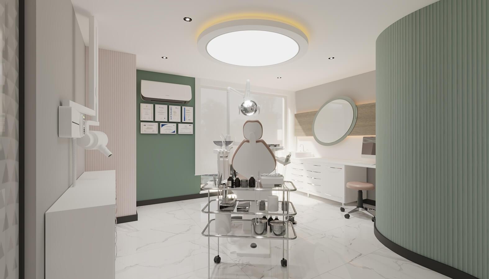 Diş kliniği 4555 Ankara Diş Kliniği Tasarımı Sağlık