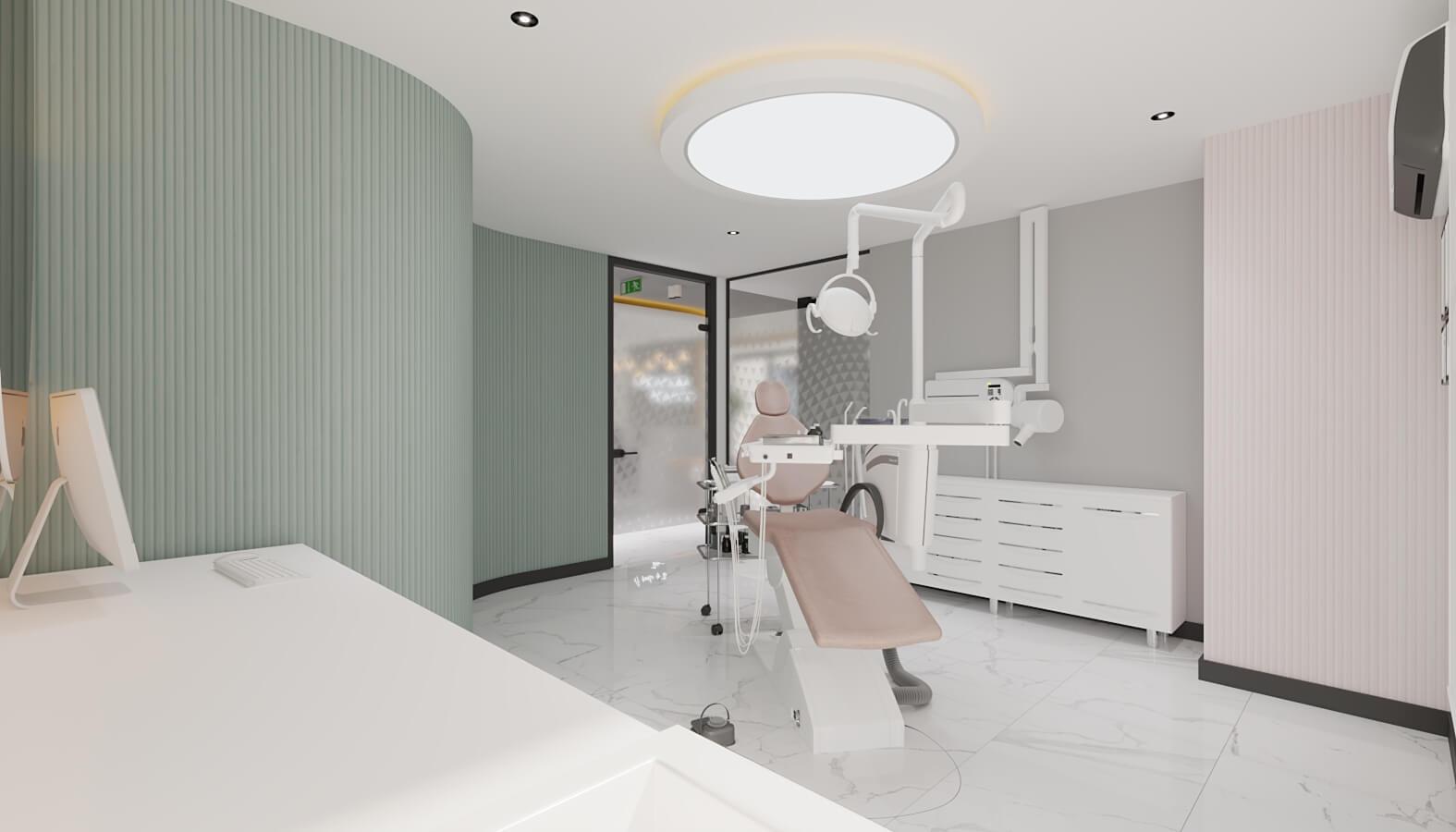 Cerrahi Poliklinik 4556 Ankara Diş Kliniği Tasarımı Sağlık