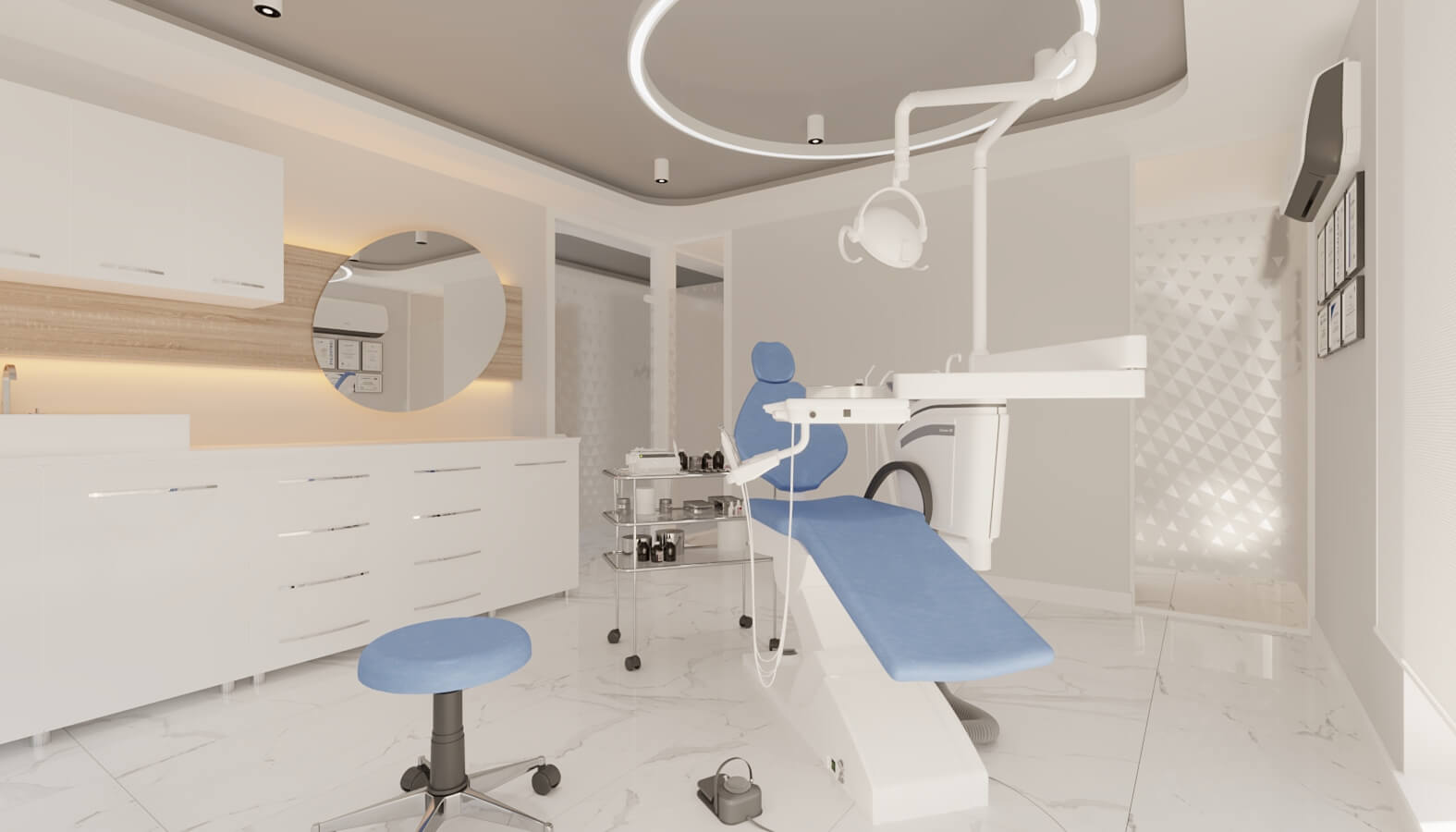 Cerrahi Poliklinik 4558 Ankara Diş Kliniği Tasarımı Sağlık
