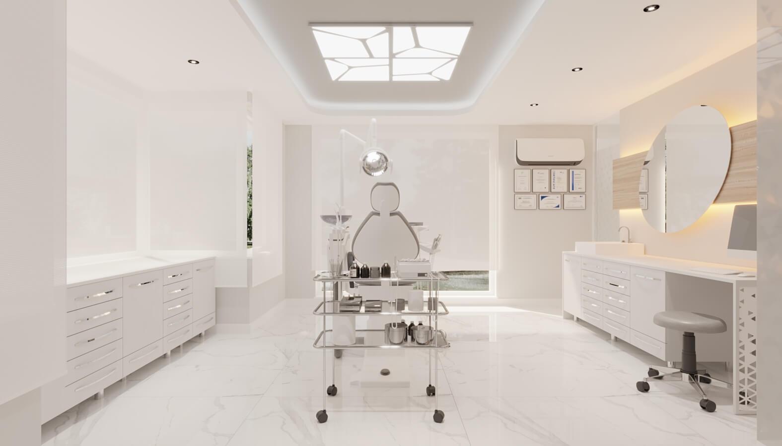Diş kliniği tasarımı 4561 Ankara Diş Kliniği Tasarımı Sağlık