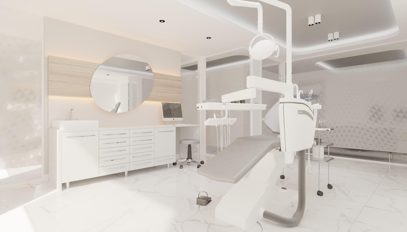 Cerrahi Poliklinik 4562 Ankara Diş Kliniği Tasarımı Sağlık
