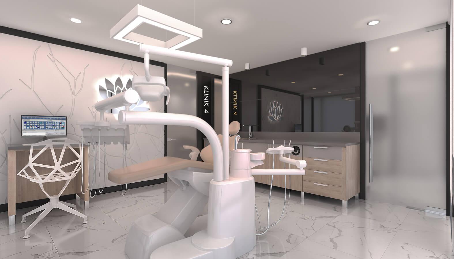 Diş kliniği tasarımı 4581 Dentapol Diş Polikliniği Sağlık