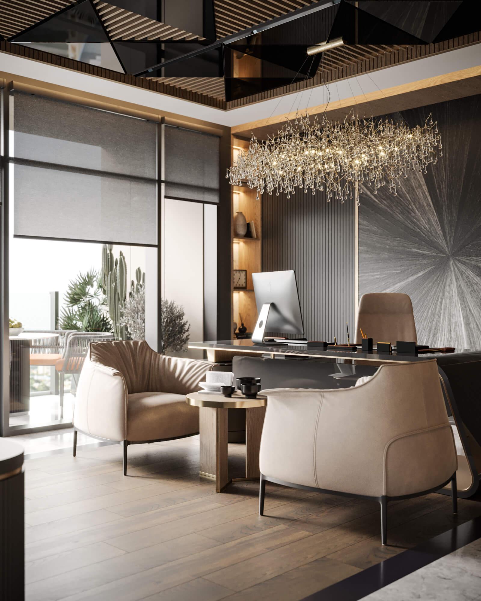 ofis dekorasyonu 4595 Mahall Ankara Ofisler