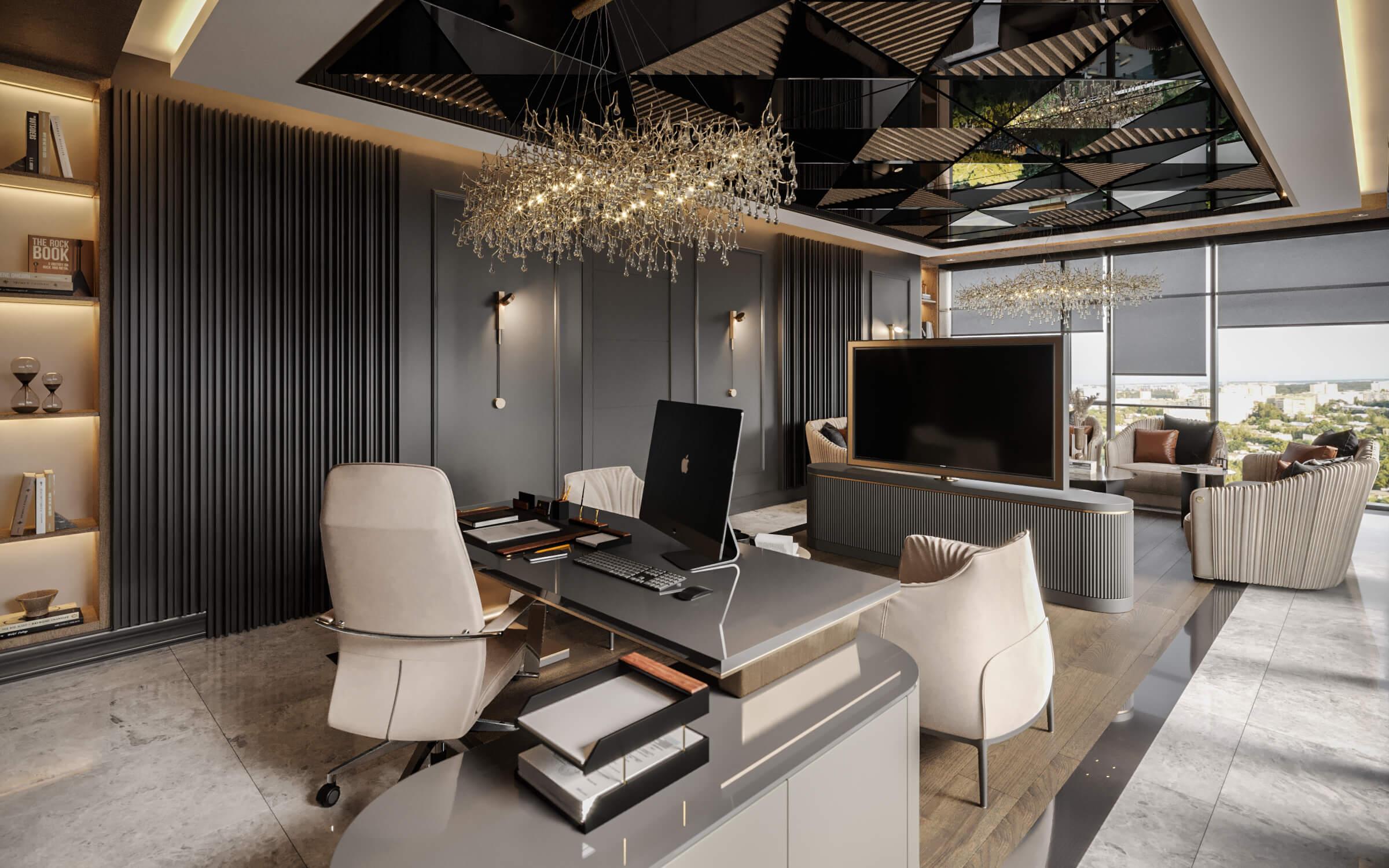 ofis içmimari 4599 Mahall Ankara Ofisler